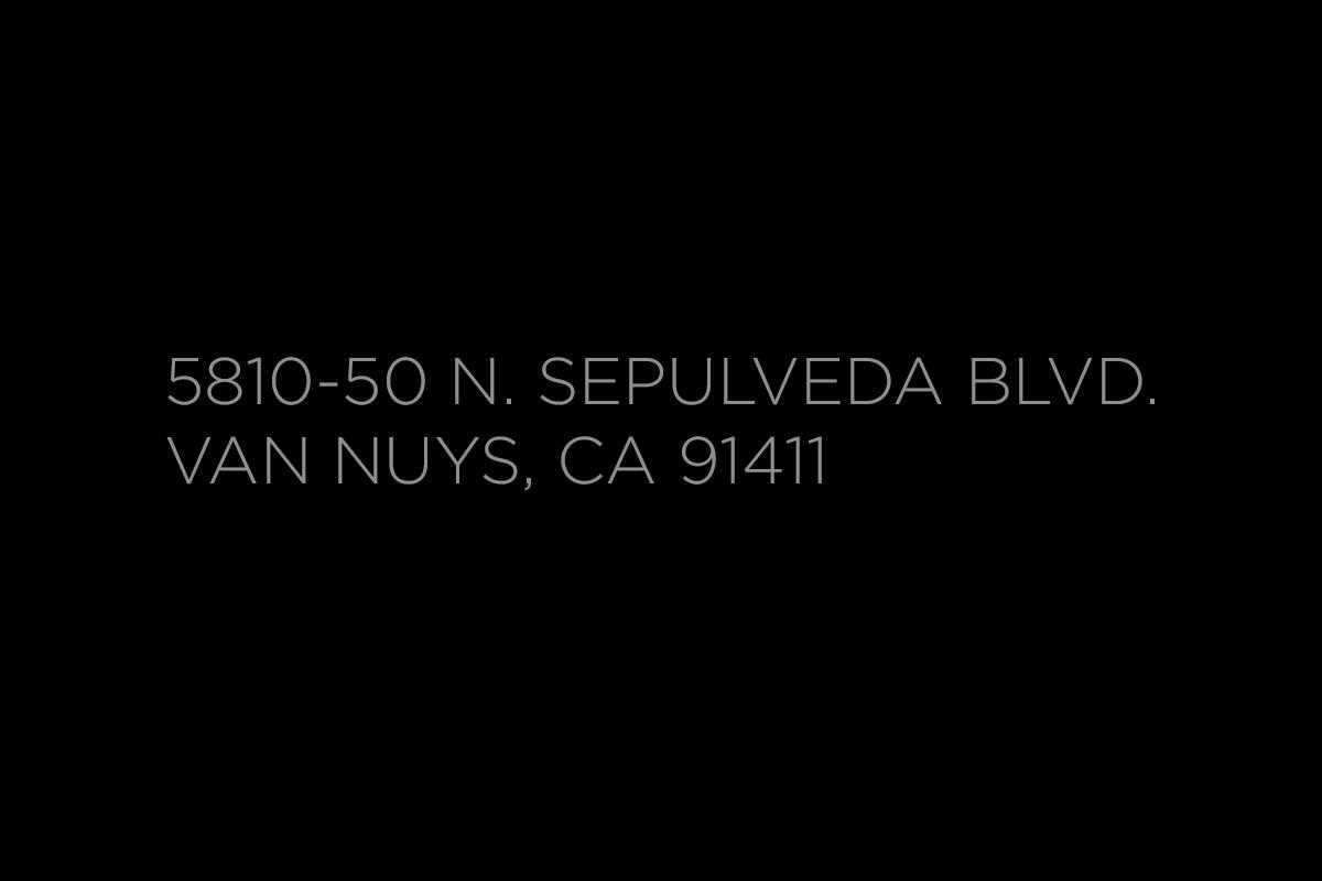 5810-50 N. Sepulveda Blvd.